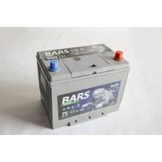 АКБ 6СТ-75 R+ (пт 640)(не обслуж)(азия) BARS