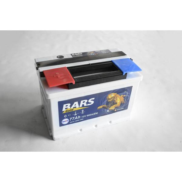 АКБ 6СТ-77 L+ (пт 660) BARS