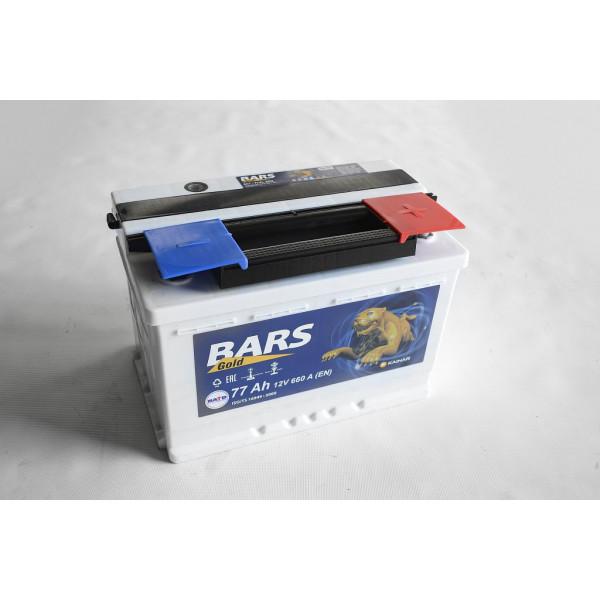 АКБ 6СТ-77 R+ (пт 660) BARS