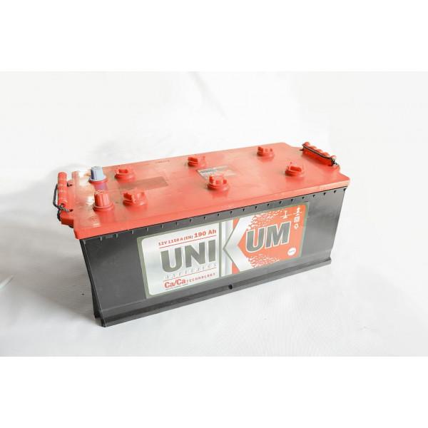 АКБ 6СТ-190 Тип4 (плоский конус)(пт 1200) UNIKUM