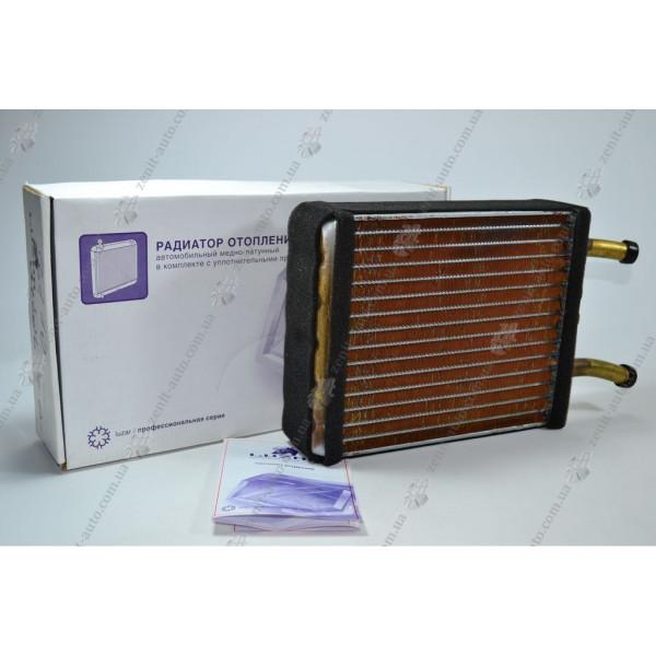 Радиатор отопителя 3110 с/о (d16) (медь) Luzar