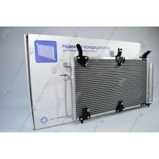 Радиатор кондиционера 1118 PANASONIC с ресивером Luzar