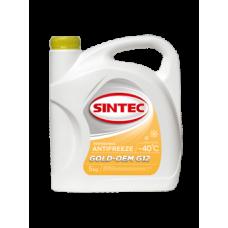 Антифриз SINTEC GOLD G12, (-40),   5л, желт