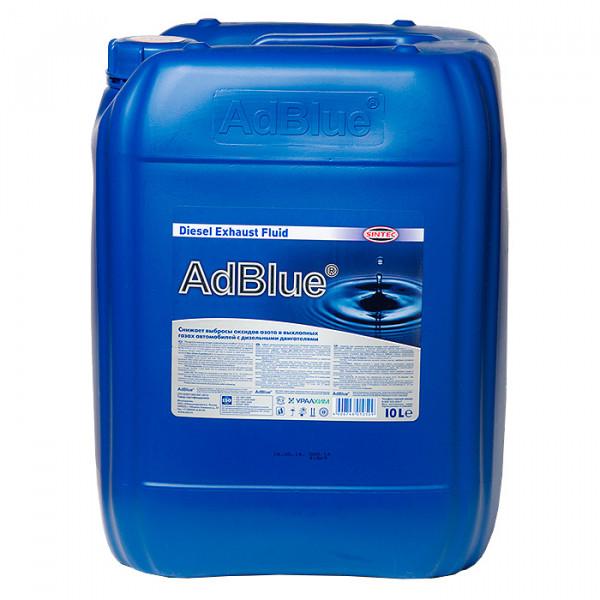 AdBlue жидкость для систем SCR дизельных ДВС SINTEC 10л