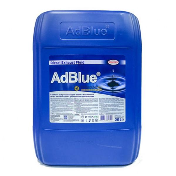 AdBlue жидкость для систем SCR дизельных ДВС SINTEC 20л
