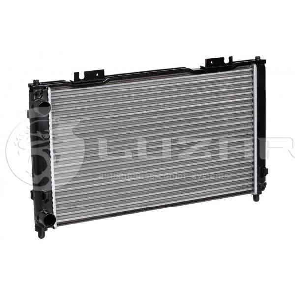 Радиатор охлаждения 2170 с конд HALLA (алюм) Luzar